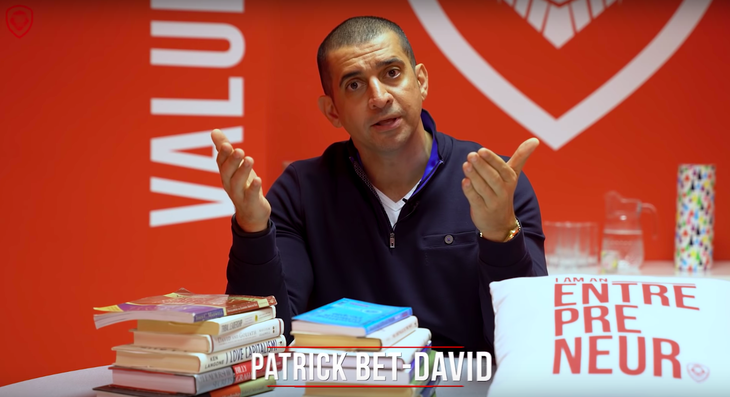 Patrick Bet-David Valuetainment Entrepreneur