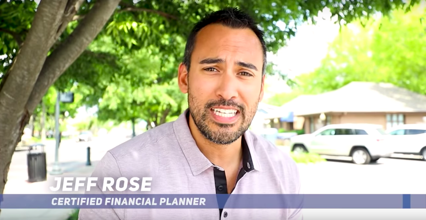 Jeff Rose Entrepreneur Investor Money Financial Planner Real Estate