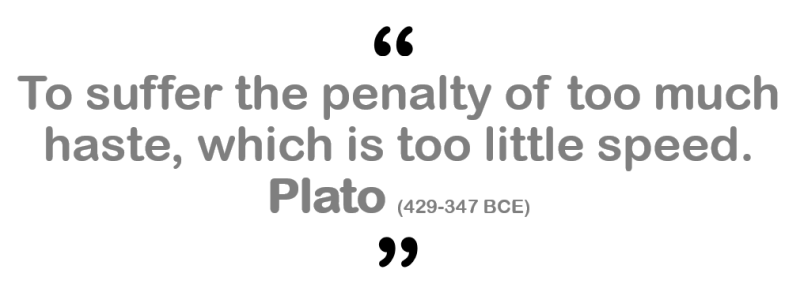 plato quote organizations first-movers